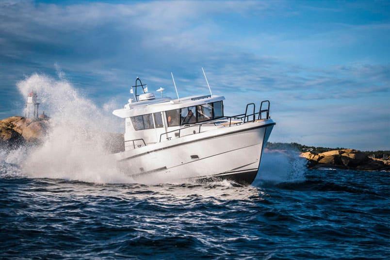 control inclinacion automatico humphree camber marine