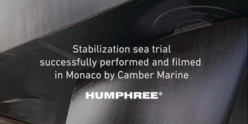 Installation of Humphree interceptors and fins at mangusta 130